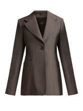 LEMAIRE | Single-breasted wool blazer | Clouty