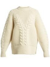 Alexander McQueen | Aran-knit wool sweater | Clouty