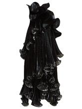GIVENCHY | One-shoulder ruffled Lurex silk-blend dress | Clouty