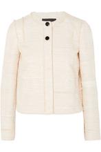 Proenza Schouler | Proenza Schouler - Lady Cotton-blend Boucle-tweed Jacket - Off-white | Clouty