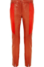 GIVENCHY | Givenchy - Leather Skinny Pants - Brick | Clouty