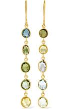 Pippa Small | Pippa Small - 18-karat Gold Multi-stone Earrings - one size | Clouty