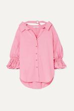 Rejina Pyo | REJINA PYO - Amber Oversized Cotton Shirt - Pink | Clouty