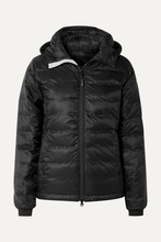 CANADA GOOSE | Canada Goose - Camp Hooded Quilted Shell Down Jacket - Black | Clouty