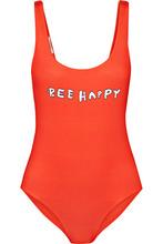 Ganni | GANNI - Profilic Printed Swimsuit - Red | Clouty