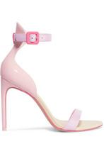 SOPHIA WEBSTER | Sophia Webster - Nicole Color-block Patent-leather Sandals - Pink | Clouty