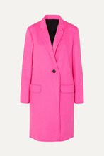 Helmut Lang | Helmut Lang - Wool And Cashmere-blend Coat - Pink | Clouty