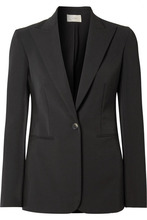 The Row | The Row - Limay Cotton-blend Blazer - Black | Clouty