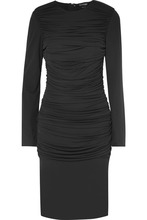 Tom Ford | TOM FORD - Ruched Jersey Dress - Black | Clouty