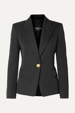 BALMAIN | Balmain - Wool-twill Blazer - Black | Clouty
