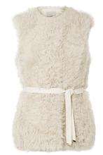 Jason Wu GREY | Jason Wu GREY - Shearling Vest - Cream | Clouty