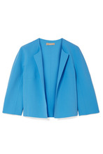 MICHAEL KORS | Michael Kors Collection - Stretch-wool Crepe Jacket - Light blue | Clouty