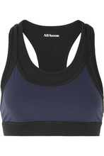 All Access | All Access - Encore Layered Stretch Sports Bra - Navy | Clouty