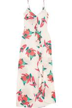 Vix | ViX - Bluebell Nicole Printed Voile Maxi Dress - White | Clouty