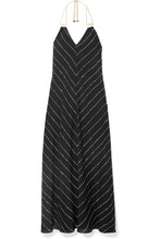 Vix | ViX - Printed Voile Maxi Dress - Black | Clouty