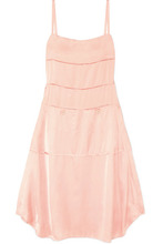 CARVEN | Carven - Satin Midi Dress - Blush | Clouty