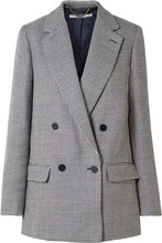Stella McCartney | Stella McCartney - Milly Oversized Wool-tweed Blazer - Navy | Clouty