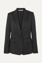 Stella McCartney | Stella McCartney - Ingrid Wool Blazer - Black | Clouty