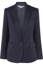 Stella McCartney | Stella McCartney - Ingrid Wool Blazer - Navy | Clouty
