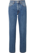 Goldsign | Goldsign - The Classic Fit High-rise Straight-leg Jeans - Mid denim | Clouty