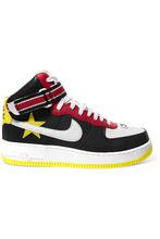 NIKE | Nike - + Riccardo Tisci Air Force 1 Leather High-top Sneakers - Black | Clouty
