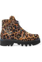Tabitha Simmons | Tabitha Simmons - Neir Leopard-print Calf Hair Ankle Boots - Leopard print | Clouty