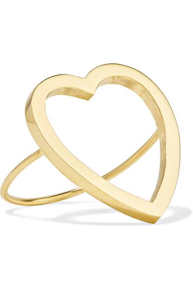 Outlet Latest Sale Prices Open Heart 18-karat Gold Ring - 6 Jennifer Meyer Cheap Deals 2018 Newest KYGnBIaZn