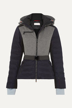 Erin Snow   Erin Snow - Kat Merino Wool-blend Ski Jacket - Navy   Clouty