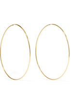 Loren Stewart | Loren Stewart - Infinity 10-karat Gold Hoop Earrings - one size | Clouty