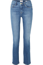 Frame | FRAME - Le Mini Boot Mid-rise Jeans - Blue | Clouty