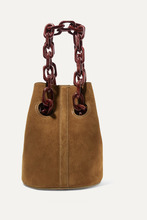 Trademark | Trademark - Goodall Suede Bucket Bag - Brown | Clouty