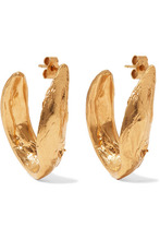 Alighieri | Alighieri - Surreal Gold-plated Earrings - one size | Clouty