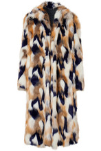 GIVENCHY | Givenchy - Faux Fur Coat - Ivory | Clouty