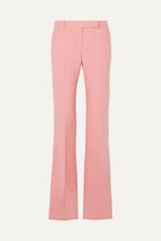 Alexander McQueen | Alexander McQueen - Wool-blend Bootcut Pants - Pink | Clouty