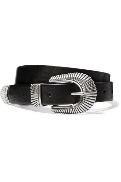 Anderson's | Anderson's - Leather Belt - Black | Clouty