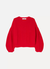 VALENTINO | Valentino - Wool And Cashmere-blend Sweater - Red | Clouty