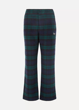Kith | Kith - Bailey Checked Wool-blend Flared Pants - Black | Clouty