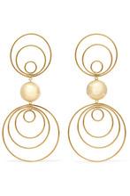 Arme De L'amour | Arme De L'Amour - Gold-plated Earrings - one size | Clouty