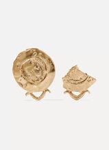 Alighieri | Alighieri - La Passione Di Napoli Gold-plated Earrings - one size | Clouty