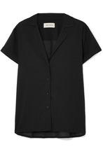 Matteau | Matteau - Cotton-voile Shirt - Black | Clouty