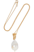 Alighieri | Alighieri - The Remedy Chapter I Gold-plated Pearl Necklace - one size | Clouty