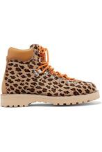 Diemme | Diemme - Roccia Vet Leopard-print Calf Hair Ankle Boots - Leopard print | Clouty