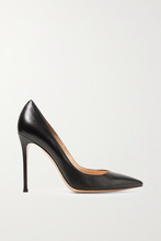 Gianvito Rossi | Gianvito Rossi - 105 Leather Pumps - Black | Clouty