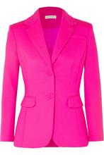 Altuzarra | Altuzarra - Fenice Wool-blend Blazer - Bright pink | Clouty