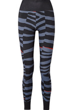 adidas by Stella McCartney | adidas by Stella McCartney - Train Miracle Zebra-print Climalite Stretch Leggings - Storm blue | Clouty