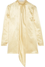Acne Studios | Acne Studios - Satin Blouse - Beige | Clouty