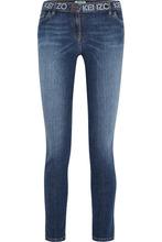 KENZO   KENZO - Printed Mid-rise Skinny Jeans - Mid denim   Clouty