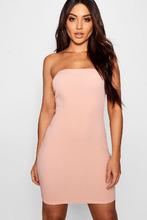 Boohoo | Bandeau Mini Dress | Clouty