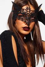 Boohoo | Halloween Lace Foxy Mask | Clouty