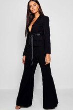 Boohoo | Tailored Kick Flare Trouser | Clouty